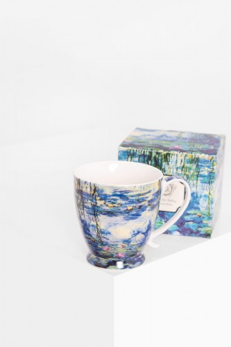 Porcelanowy kubek 480 ml Claude Monet Lilie wodne