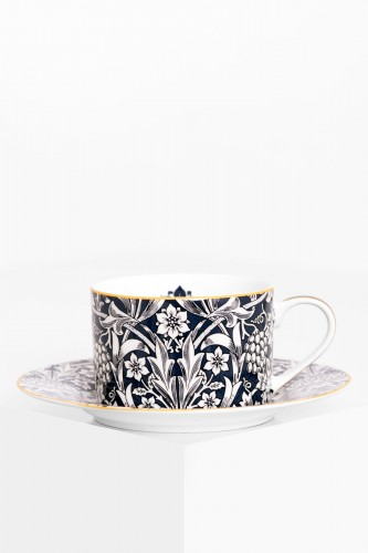 Porcelanowa filiżanka 240 ml WILLIAM MORRIS BLUE