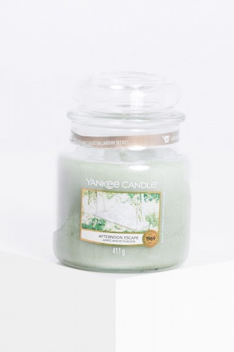 Yankee Candle Homemade Afternoon Escape świeca w średnim słoiku 411g