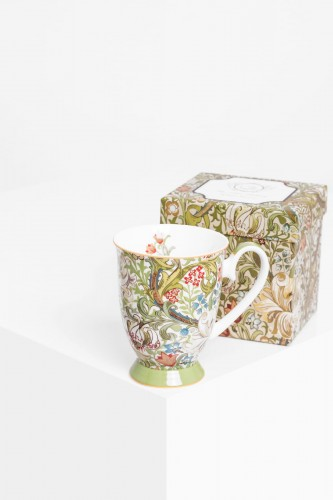 Porcelanowy kubek GOLDEN LILY William Morris