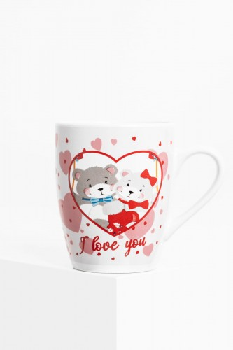 "Kubek Misie  ""I love you"" 300 ml"