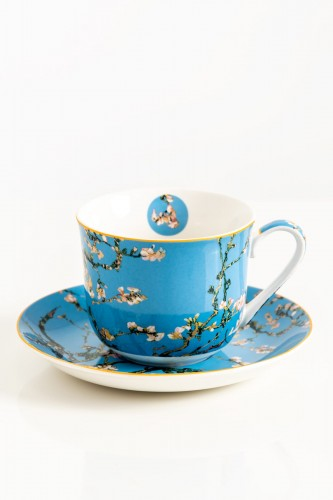Porcelanowa filiżanka 450 ml Almond Blossom by Van Gogh