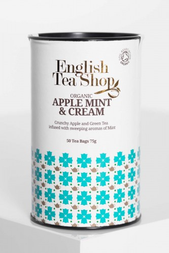 Herbata English Tea Shop APPLE MINT& CREAM